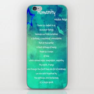 Humanity Phone Case